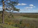 Вид на долину р. Арей с вершины г. Барун-Харул