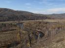 Вид с горы Куку Байцын на тракт перед с. Энгорок