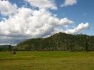 Гора Куку(Хухэ) Байцын на повороте р. Блудной перед с. Энгорок