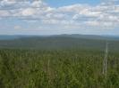 Панорама с вышки. Восток. Черемховский перевал и метеостанция