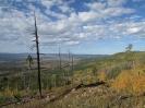Долина р. Хилок с восточного склона г. Гыршелунский Камень